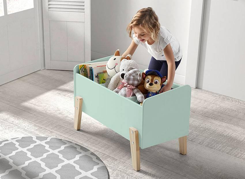 Долой беспорядок в детской комнате: 15 оригинальных идей для современных мам
