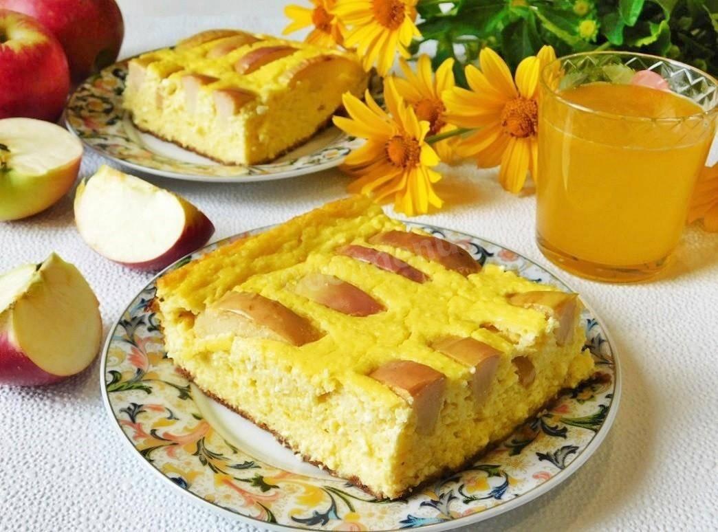 Запеканка из творога с тыквой в духовке, мультиварке. рецепты с яблоками, манкой пошагово
