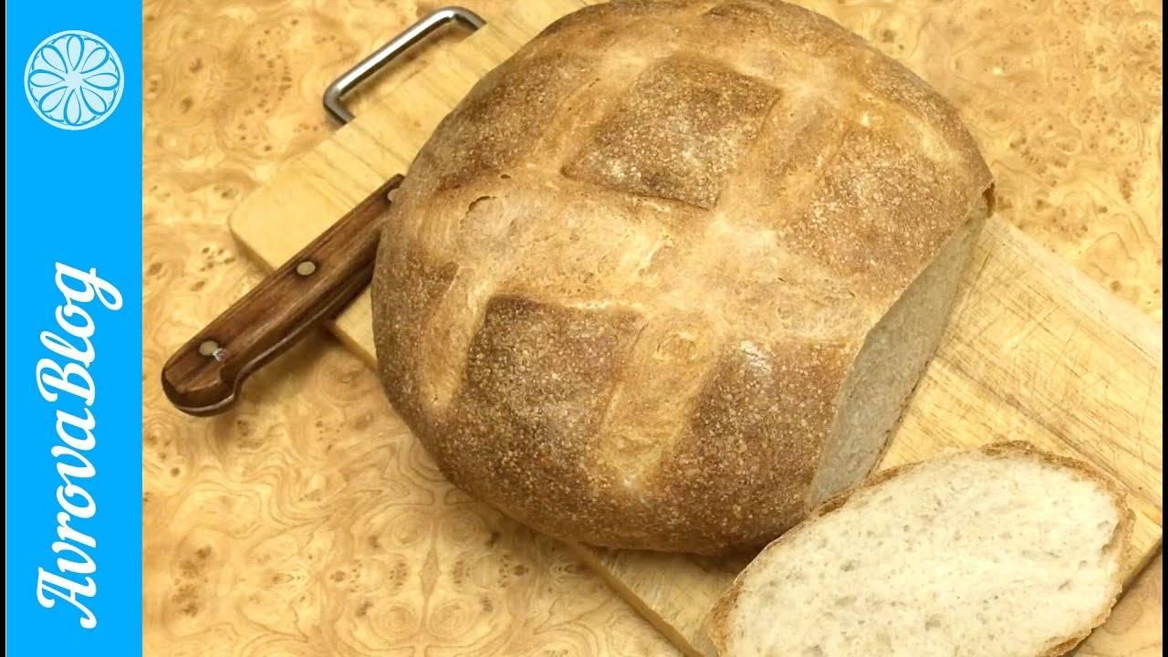 Рецепт простого домашнего хлеба в духовке