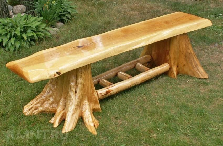 Отличное место для уединения — садовая скамейка из Алиэкспресс