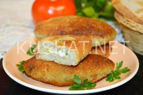 Рыбные зразы с яйцом и луком — пошаговые рецепты с фото, видео