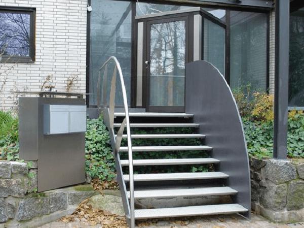 Осваиваем металл: металлическое крыльцо для дома своими руками