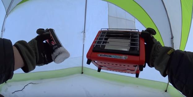 Выбираем газовый инфракрасный обогреватель для палатки