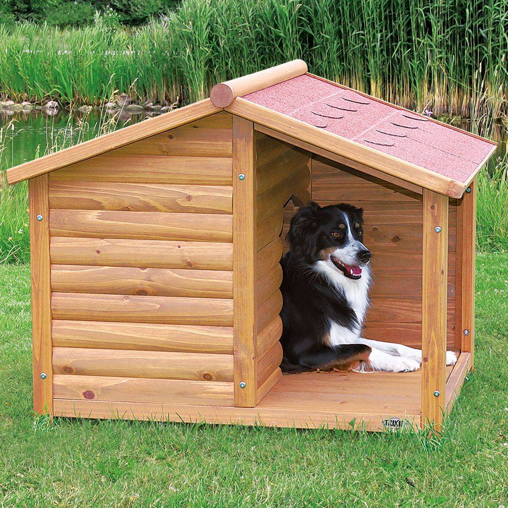 Отдельное жильё – будка для собаки своими руками: чертежи и размеры, как построить теплое жилище