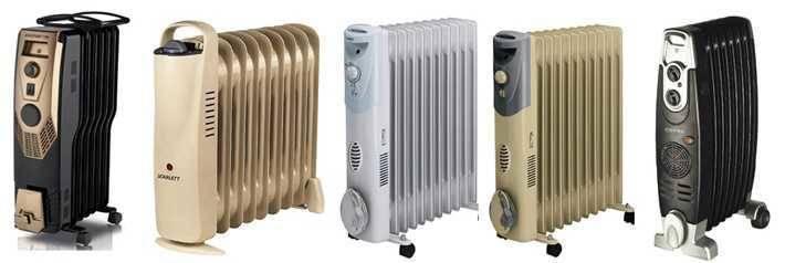Виды электрических обогревателей рекомендации по выбору