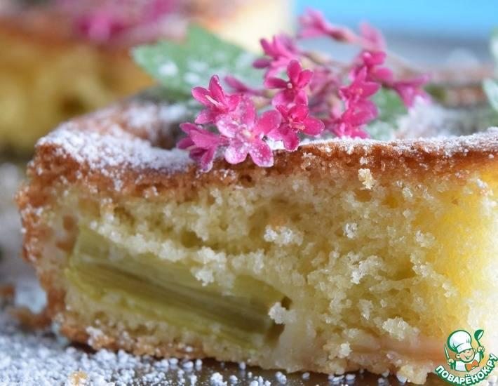 5 рецептов выпечки аппетитного пирога с ревенем