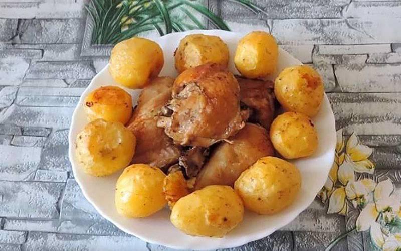 Курица в духовке - 831 домашний вкусный рецепт приготовления