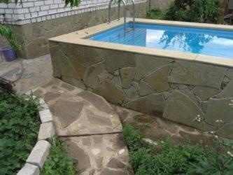 Бассейн на даче своими руками — как сделать самому, схемы сооружения
