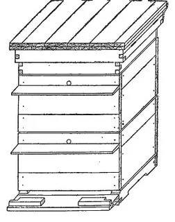Улей для пчел своими руками: виды и чертежи
