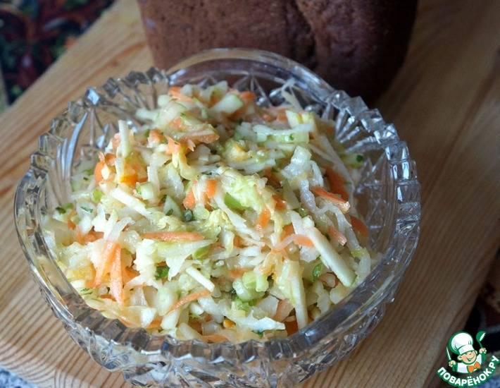 Японский салат из дайкона