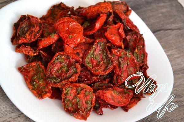 Топ 17 пошаговых рецептов, как в домашних условиях приготовить вяленые помидоры на зиму