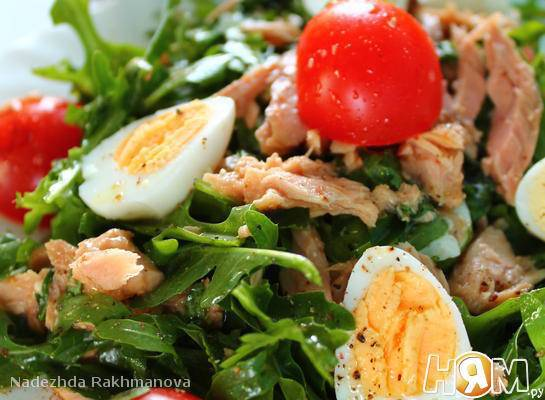 7 простых и вкусных рецептов салатов с рукколой