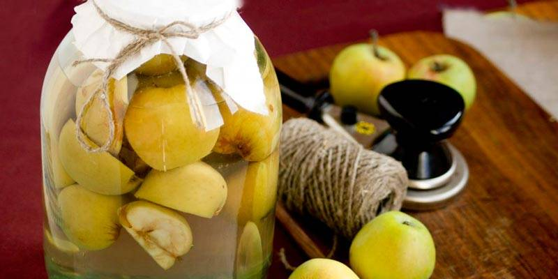 Компот из яблок на зиму — рецепты яблочного компота на 3 литровую банку