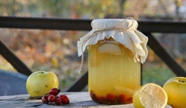Компот из брусники на зиму — рецепты напитка с добавлением яблок, приготовление без стерилизации, видео