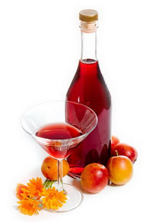 Технология приготовления вина из сливы с косточками