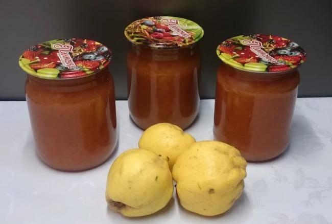 Варенье из айвы — 10 самых вкусных рецептов