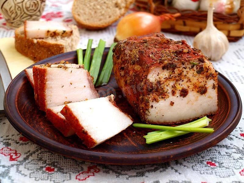Сало в луковой шелухе - 5 самых вкусных рецептов с фото пошагово