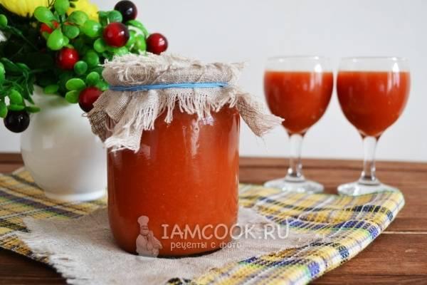Как приготовить томатный сок в домашних условиях на зиму