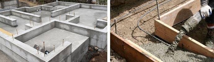Как правильно ухаживать за бетоном после заливки фундамента  