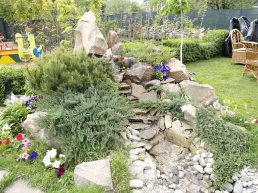 Общие рекомендации по выбору камней для альпийской горки