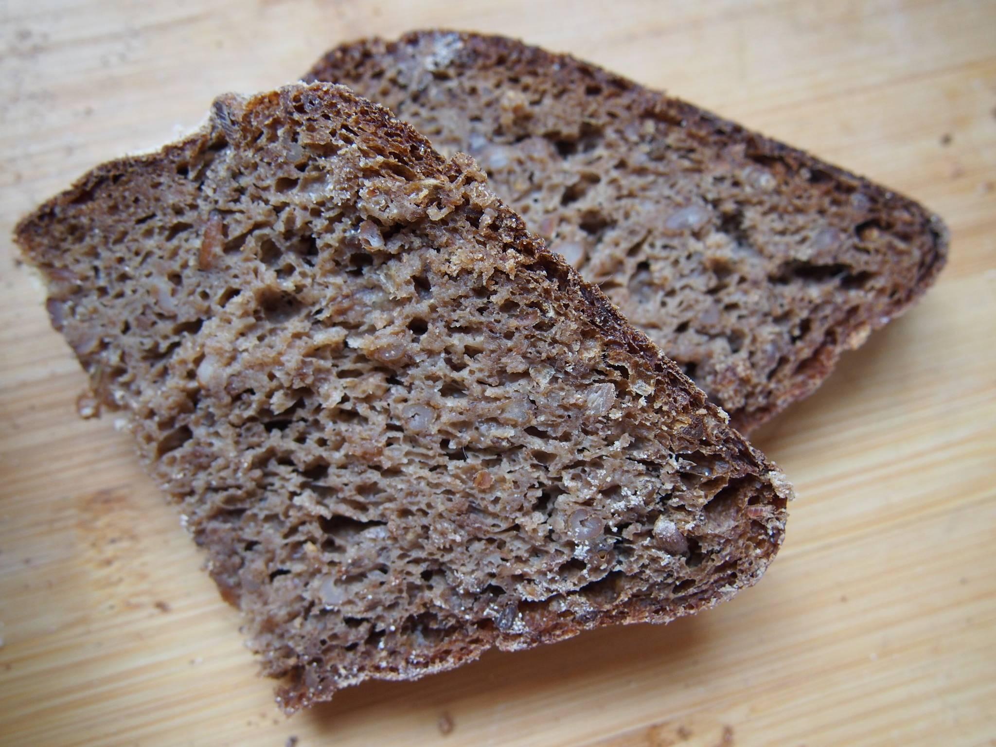 Хлеб ржано-пшеничный с солодом