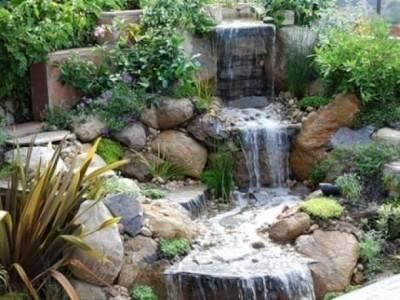 Водопад своими руками - как сделать, схема, строительство, видео