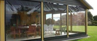 Выбираем уличные шторы для террас и веранд