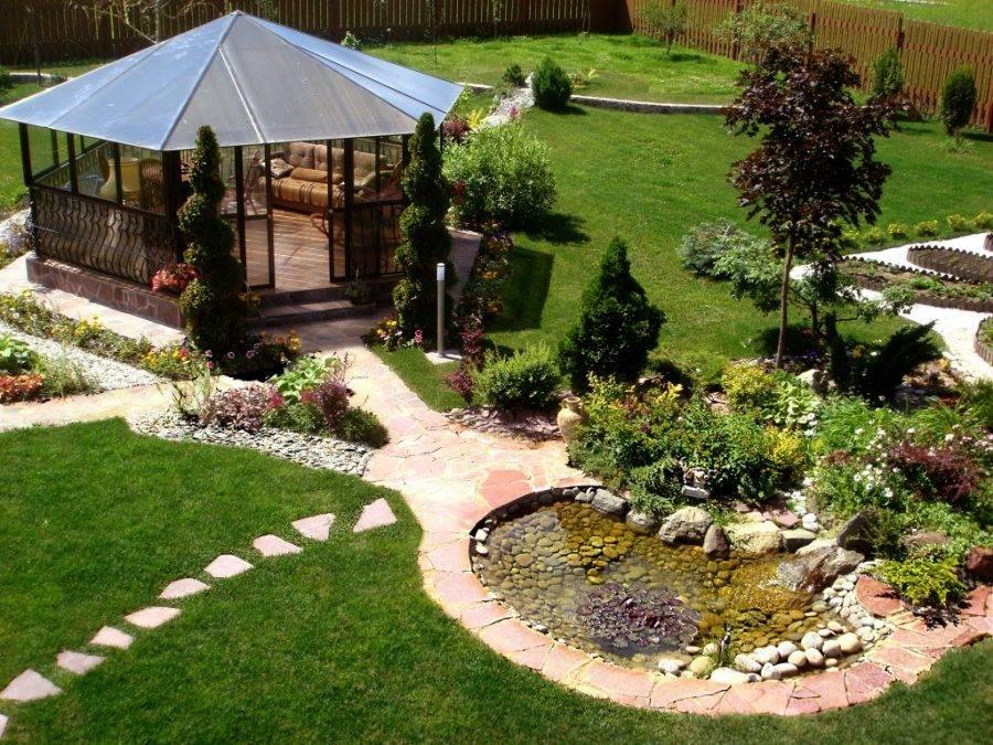 Озеленение двора: 155 фото и видео описание как выполнить озеленение участка