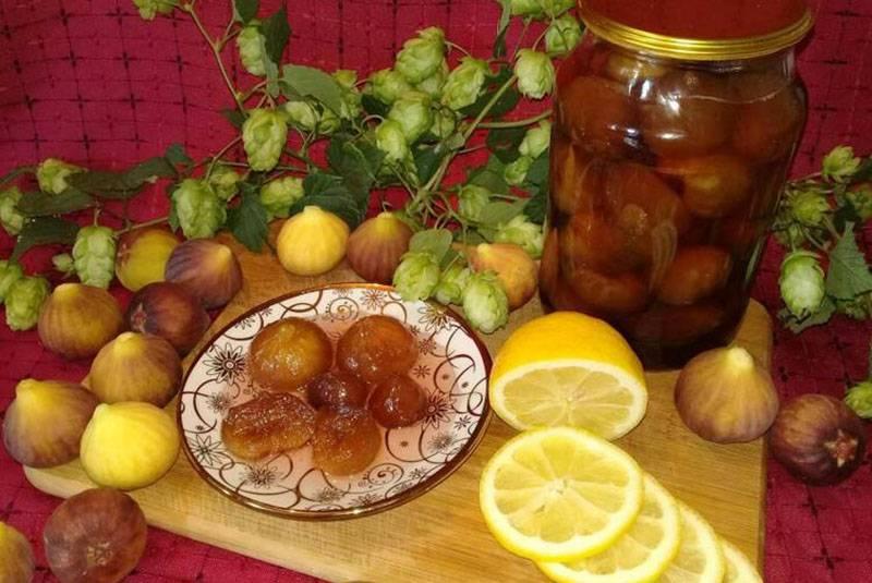 Варенье из инжира в домашних условиях - 5 рецептов приготовления с фото пошагово