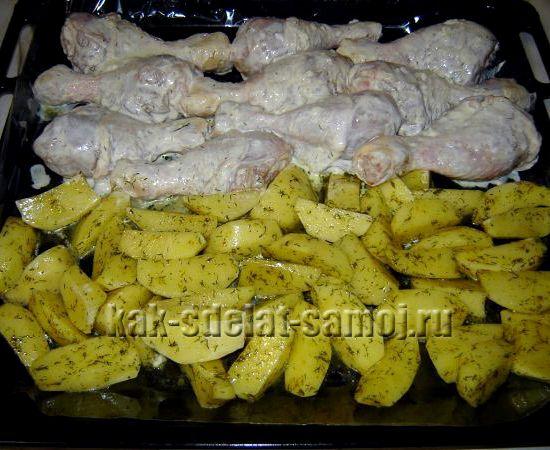 Куриное филе в горшочках в духовке