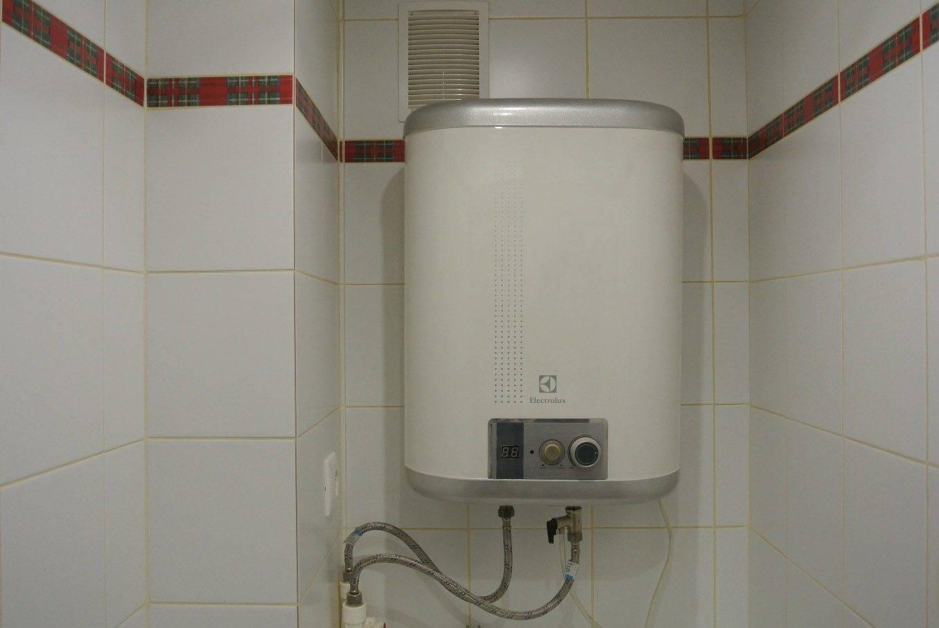 Устройство и принцип работы накопительного электрического водонагревателя