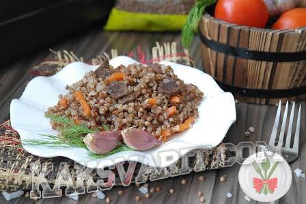 Гречка по-купечески со свининой. пошаговый рецепт с фото