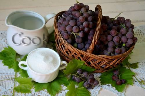 Рецепты как сделать сок из винограда