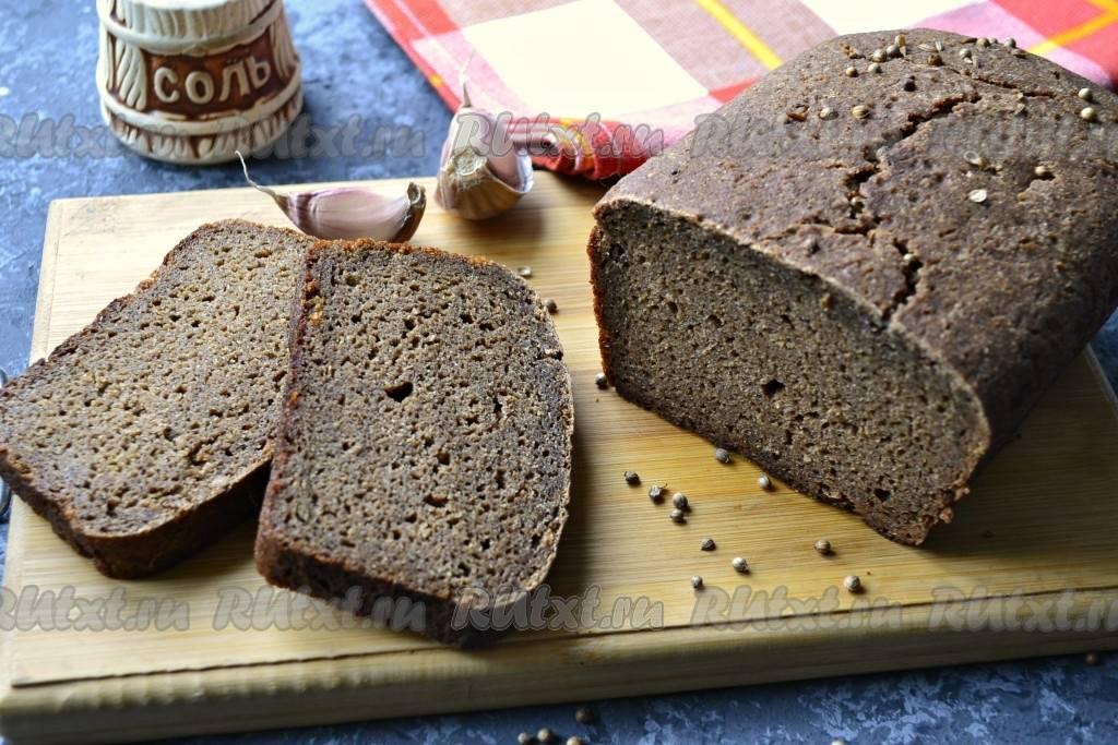 Новый рецепт украинского хлеба на закваске по госту