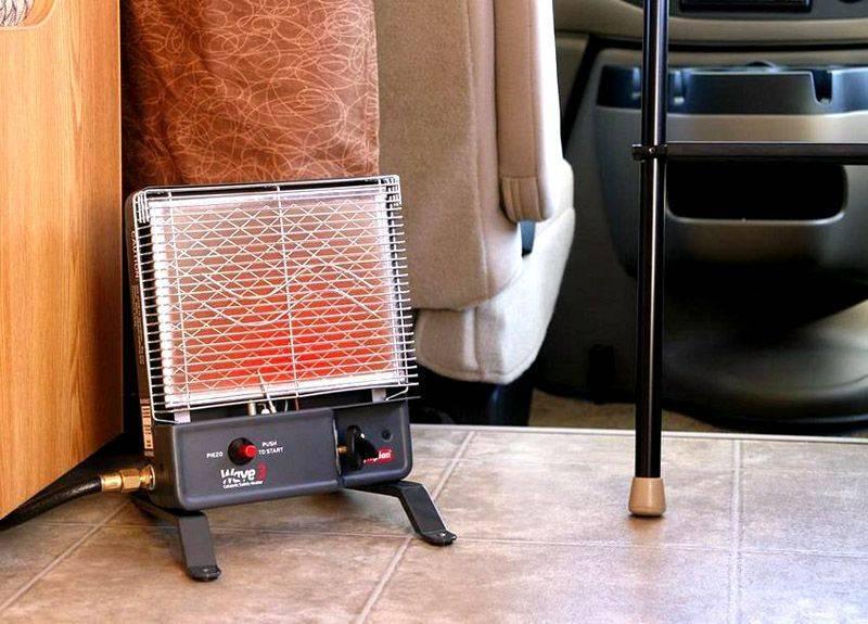 Выбор газового обогревателя для зимней палатки