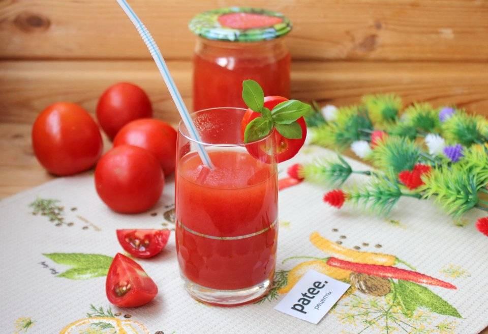 Как сделать томатный сок на зиму