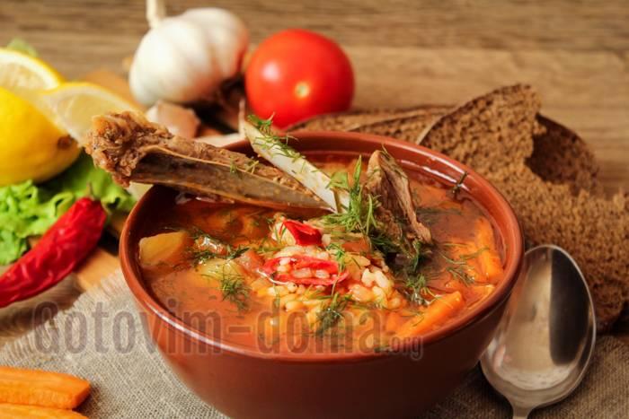 Мастава — узбекский суп, очень вкусный, наваристый и сытный