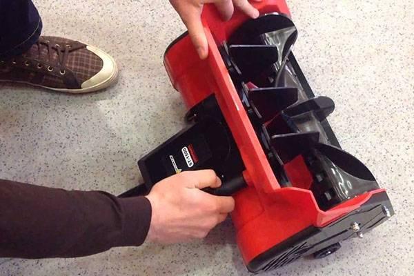 Самодельная шнековая лопата для частного дома