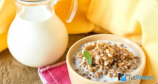 Рецепт каша гречневая на кефире без варки. калорийность, химический состав и пищевая ценность.