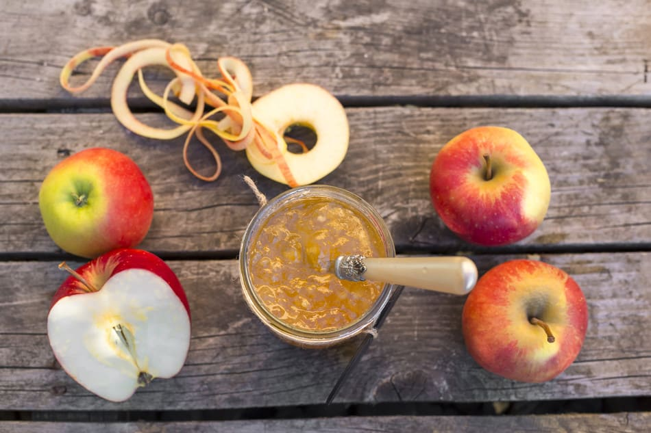 Джем из яблок на зиму