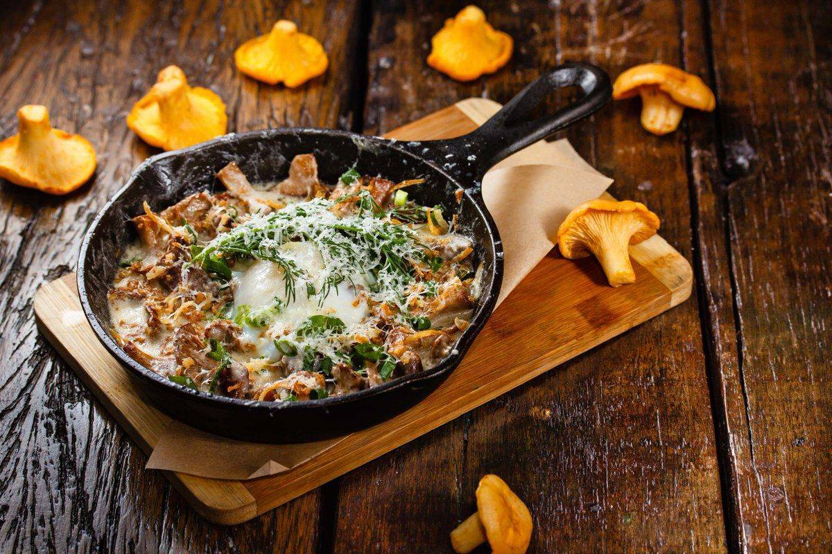Жюльен с курицей и грибами — пошаговый рецепт с фото