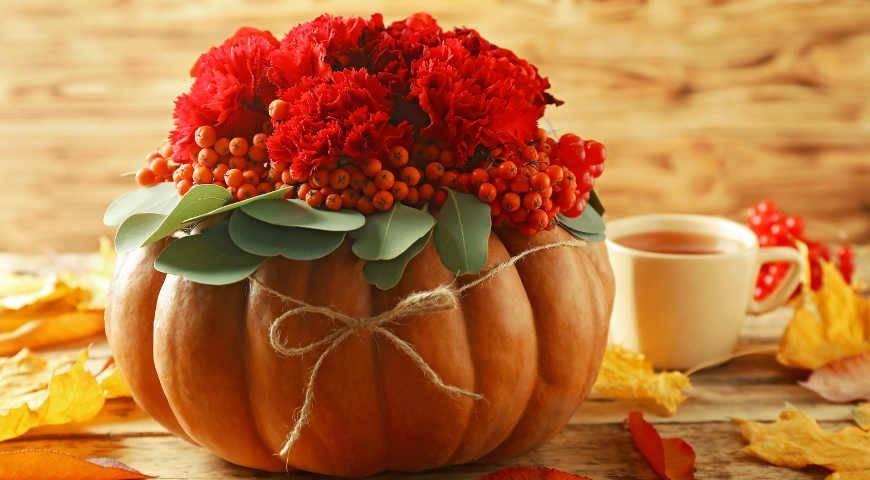 Осенние поделки сделанные из природных материалов