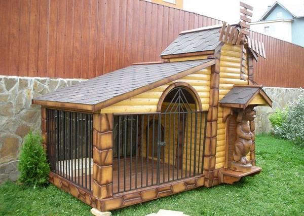 Рай не в шалаше: создаём идеальный вольер для собаки