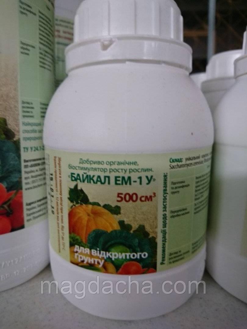 Применение удобрения «байкал» для подкормок растений на даче