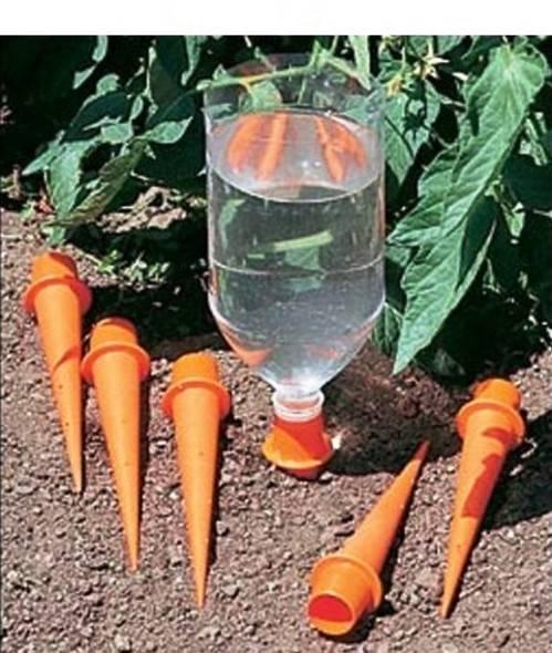 Делаем капельный полив своими руками из пластиковых бутылок