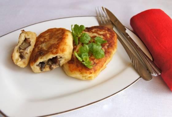 Зразы мясные с яйцом, грибами, сыром, пошаговые рецепты с фото, видео