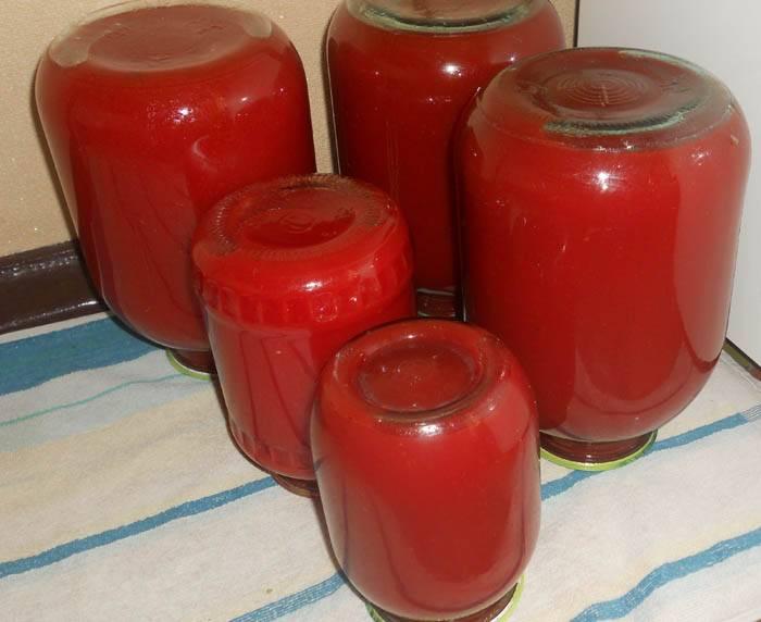 Как приготовить томатный сок на зиму в домашних условиях из помидор?