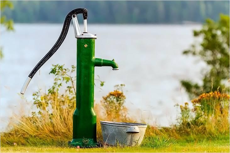 Ручной скважинный насос для воды своими руками