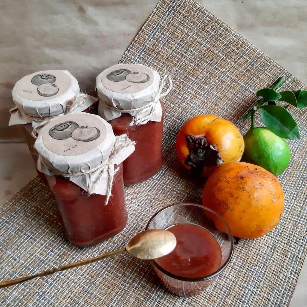 Варенье из хурмы с яблоками