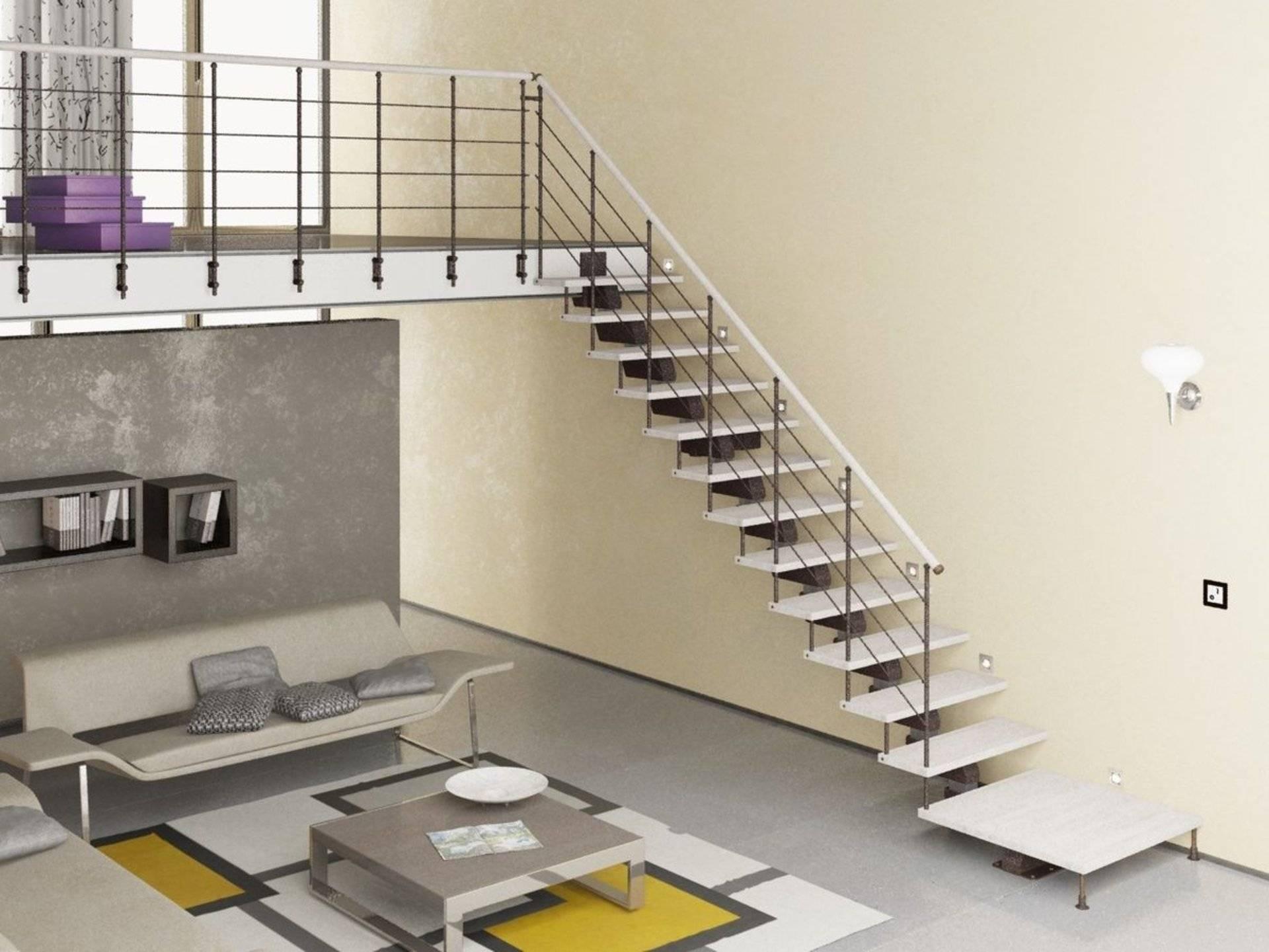 Лучшая лестница на металлических косоурах: 6 рекомендаций